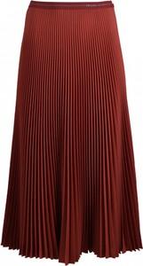 Czerwona spódnica Prada midi