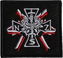 Plakietka Haasta Haft Krzyż NSZ (PHKNSZ)
