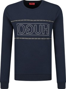 Granatowa bluza Hugo Boss w młodzieżowym stylu