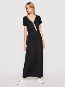 Sukienka Liu-Jo maxi z dekoltem w kształcie litery v