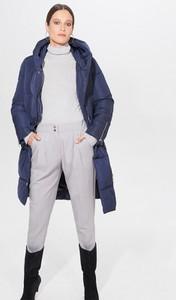 Niebieski płaszcz Mohito w stylu casual