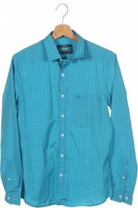 Niebieska koszula John Miller z długim rękawem
