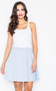 Niebieska spódnica Figl mini