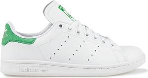 Buty sportowe dziecięce Adidas ze skóry dla dziewczynek