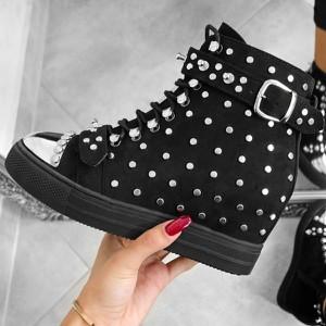 Sneakersy Wilady sznurowane