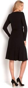 Sukienka Happy Holly z dekoltem w kształcie litery v w stylu casual mini