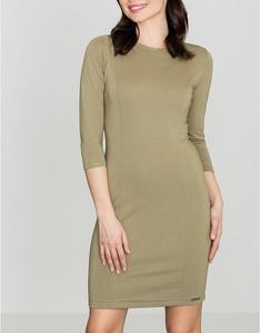 Sukienka LENITIF z długim rękawem w stylu casual
