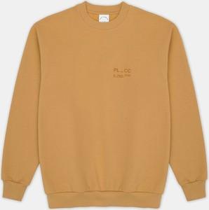 Żółta bluza Pako Lorente z dresówki w stylu casual