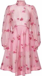 Sukienka Custommade mini z długim rękawem