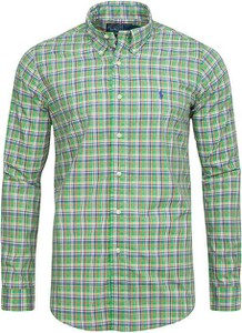 Koszula Ralph Lauren z kołnierzykiem button down w stylu casual z długim rękawem