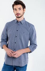 Niebieska koszula Big Star z długim rękawem w stylu casual