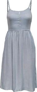 Niebieska sukienka Only na ramiączkach z dekoltem w kształcie litery v mini