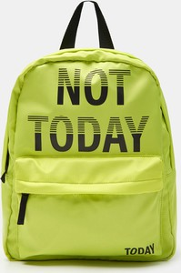 Zielony plecak Sinsay