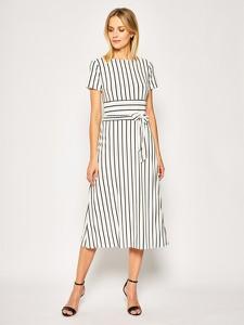 Sukienka Ralph Lauren w stylu casual midi z krótkim rękawem