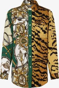 Koszula Essentiel Antwerp z długim rękawem w stylu vintage z kołnierzykiem