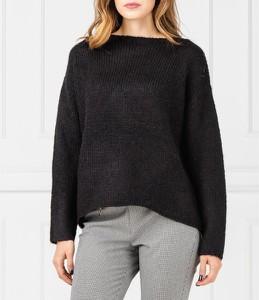 Czarny sweter Silvian Heach w stylu casual