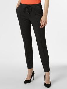 Czarne spodnie comma, w stylu klasycznym