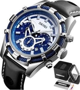 Zegarek męski SKMEI 9189 srebrny WODOODPORNY