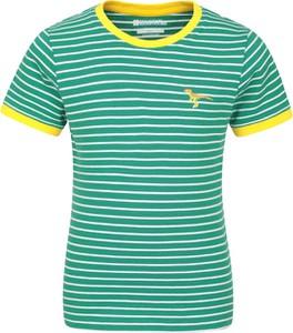 Koszulka dziecięca Mountain Warehouse z krótkim rękawem z tkaniny dla chłopców