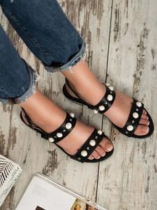 Sandały Czasnabuty z płaską podeszwą