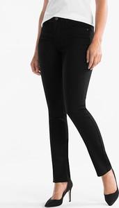Czarne jeansy The Denim z bawełny