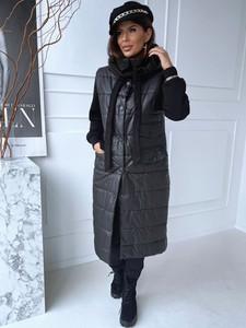 Płaszcz Versada z dresówki w stylu casual