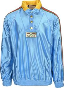 Bluza Gucci z dżerseju w młodzieżowym stylu
