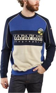 Niebieska bluza Napapijri z bawełny