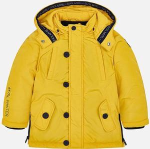 Żółta kurtka dziecięca Mayoral z tkaniny