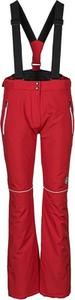 Czerwone spodnie sportowe Peak Mountain