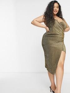 Sukienka Yours midi z dekoltem w kształcie litery v