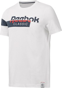 T-shirt Reebok Classic z krótkim rękawem w młodzieżowym stylu z dzianiny