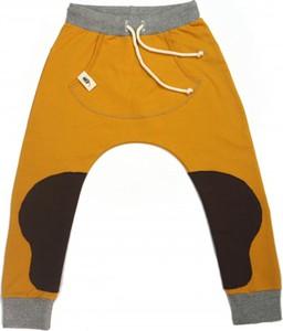 Żółte spodnie dziecięce CudiKiDS