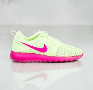 Zielone buty sportowe dziecięce Nike