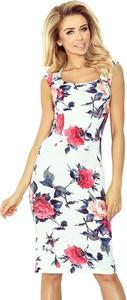 Sukienka NUMOCO midi w stylu casual na ramiączkach