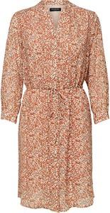 Sukienka Selected Femme koszulowa mini w stylu casual