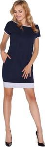 Sukienka MERRIBEL midi z krótkim rękawem
