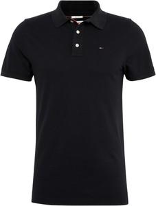 Czarna koszulka polo Tommy Jeans