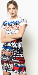 Sukienka Love Moschino prosta mini