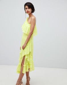 Zielona sukienka Asos maxi