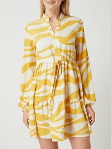Sukienka Vila z dekoltem w kształcie litery v mini w stylu casual