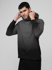 Czarna bluza 4F z dzianiny