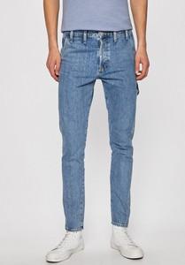 Niebieskie jeansy Jack & Jones z bawełny