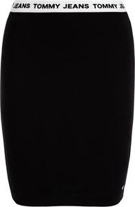 Czarna spódnica Tommy Jeans