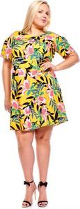 Sukienka Fokus mini dla puszystych