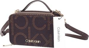Brązowa torebka Calvin Klein na ramię