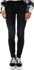 Czarne jeansy Calvin Klein z bawełny