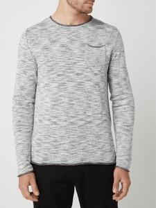 Sweter Review z bawełny z okrągłym dekoltem w stylu casual