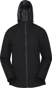 Czarna kurtka Mountain Warehouse w stylu casual z tkaniny
