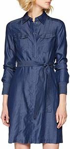 Sukienka amazon.de z długim rękawem koszulowa